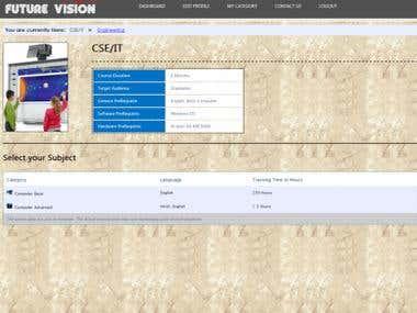 Online eLearning Project