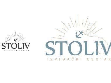 """Logo Scout centar """"Stoliv"""""""