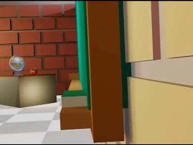 TV 3D intro