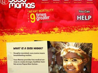 Charity site Papua New Guinea