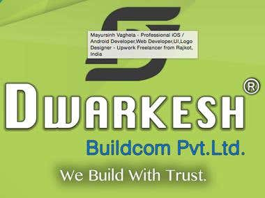 Dwarkesh BuildCom Logo