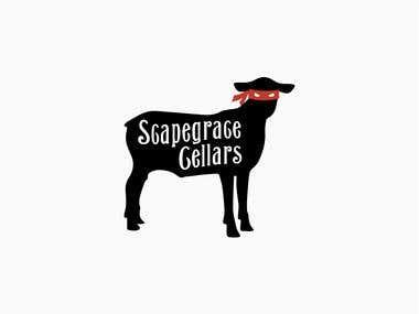 Scapegrace Cellars - logo design