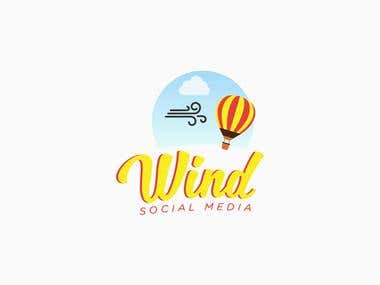 Wind - logo design