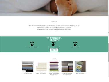 Website - Toga Bedding