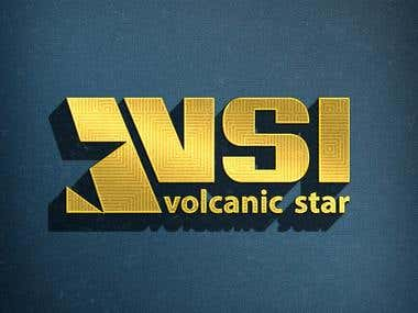 logo for volcanic star