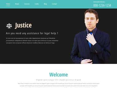 Justice - Template