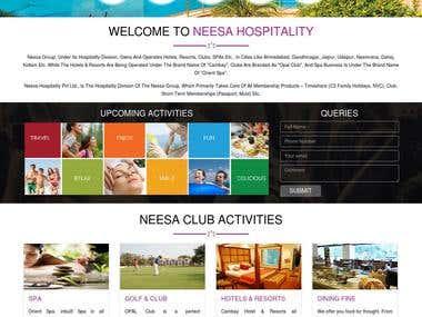 Neesa Hospitality - PHP