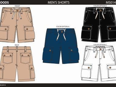 Shorts and Denim designs