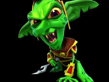 Goblin (copyright of PerBlue )