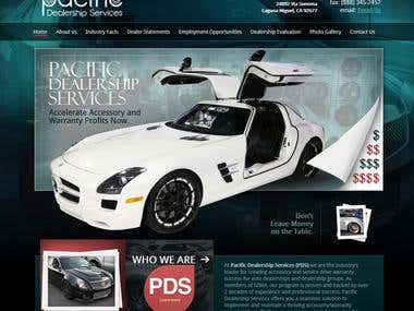 Pacific dealership website