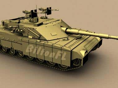 C1- Ariete military tank