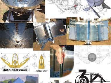 Solar CSP design & manufacture