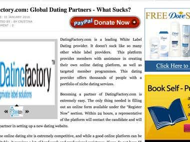 DatingFactory, what sucks?