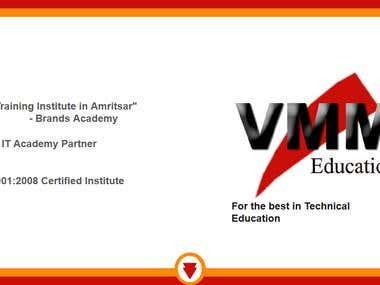 VMM Education Website