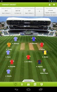 CricketFantasy iOS & Android App