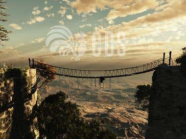 Photoshop, matte painting