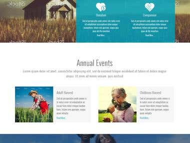 Website for church