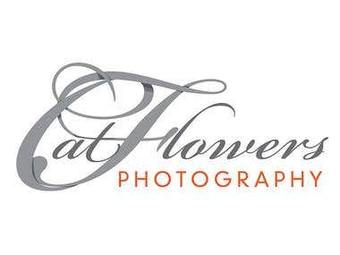 Cat Flowers Photography Logo