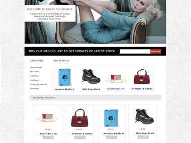 A Magento Ecommerce store