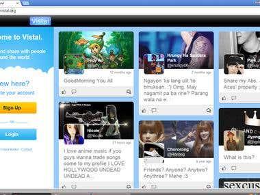 Vistal Social Network