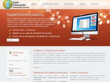 WebSite: SuperGerenciador