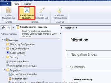 SCCM Server Upgradation from Server 2007 to 2012