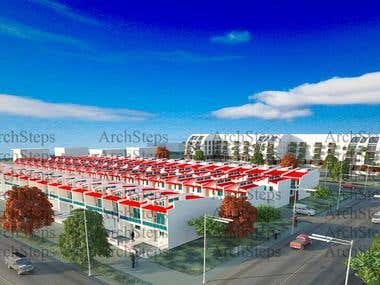 Multi Residential + Town houses Project