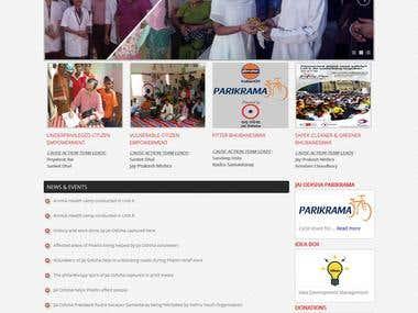 Application for social intervention organisation