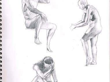 Real life drawing