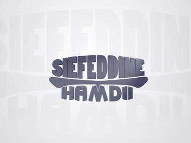 Logo 3D Siefeddine Hamdi