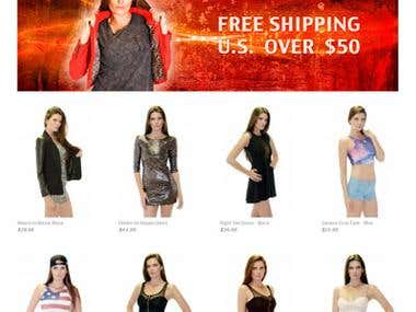 online boutique for the latest fashion store