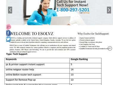 Esolvz Tech Support