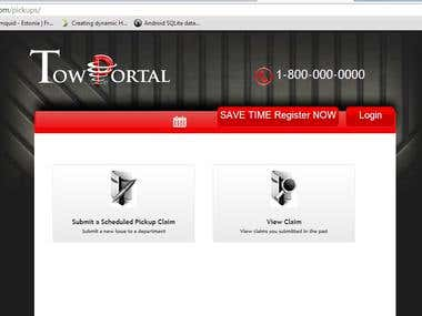Tow Portal - Ticketing Platform