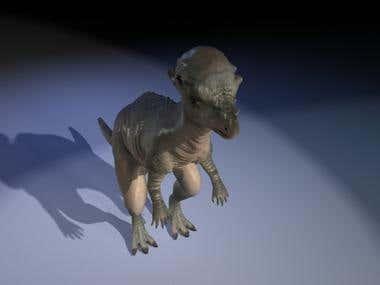pachcephalosaura