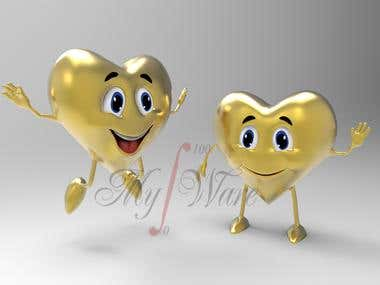 Twin Heart Character