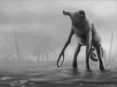 Swampmeleon, creature