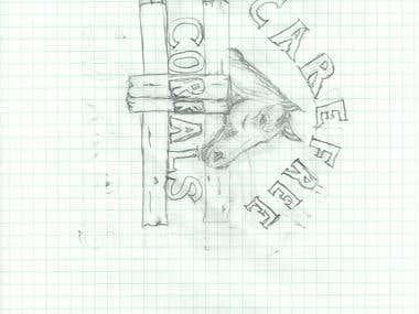 Ranch Logo Drawing