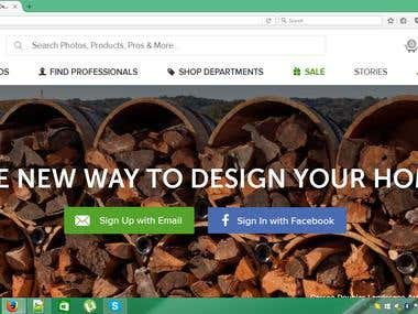 Interior Decorating Website