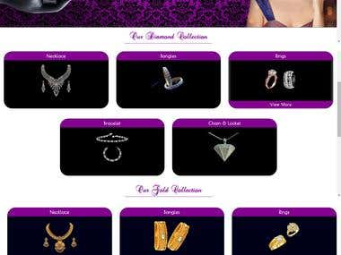 Jewellery Website