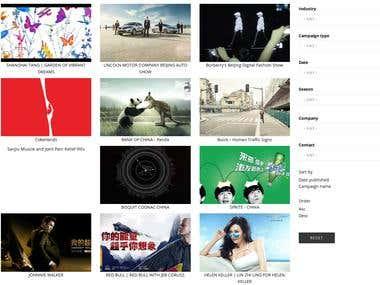 Drupal campaign site