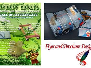 Flyer and Brochure