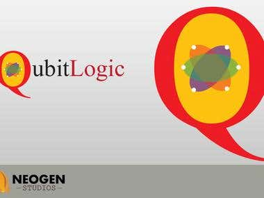 Logo Design for Qubit Logic