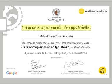 Curso de Programación de Apps Móviles