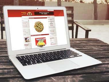 2010 - Pizza's Website