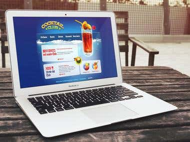 2008 - Lounge Bar Website