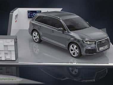 Audi Platform Mall Activations 2016