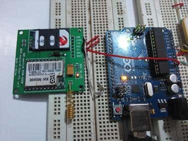 GPS tracker Based on Arduino, M590 GSM and NEO-6M GPS,,,