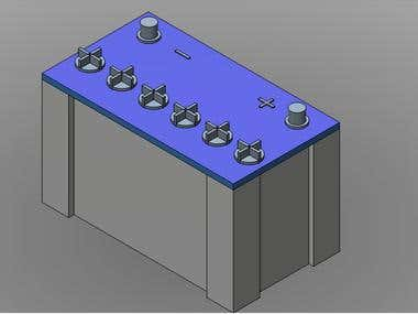 3D modeling in AutoDesk Inventor,,,