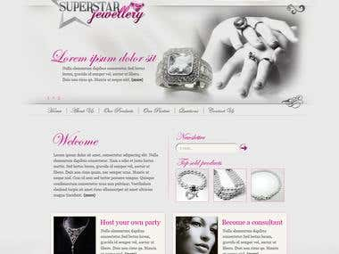 Superstar Jewelry Website