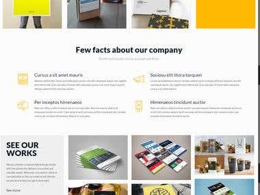 Design & develop site